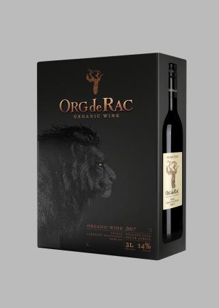 Org de Rac Organic Bag in box