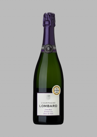 Champagne Lombard Extra Brut Premier Cru Blanc de Noir (Nyhet)