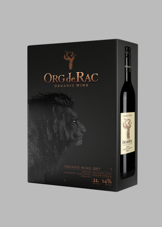 Org de Rac Organic Bag in box