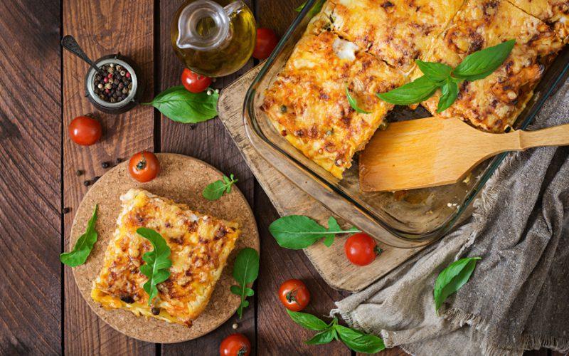 världens godaste lasagne recept