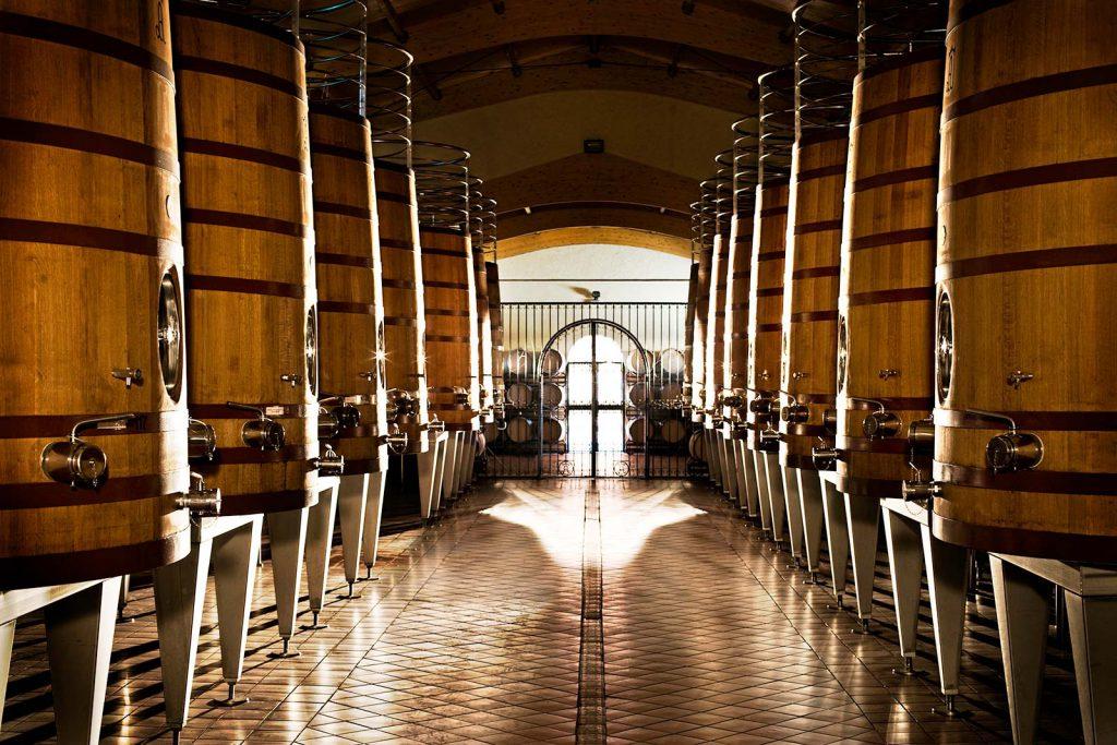 En noggrann vinframställningsprocess försäkrar en produktion av mycket tydliga och högkvalitativa viner.